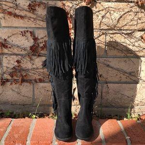 4544e8efff8 Women Forever 21 Fringe Boots on Poshmark